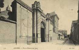 ANGERS  Porte D'Entrée Du Lycée RV Cachet 9e Corps D'Armée Hopital Temporaire N° 7 Angers 18 Juin  1915 - Angers