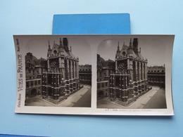PARIS : La Sainte Chapelle : S. 7 - 2984 ( Maison De La Bonne Presse VUES De FRANCE ) Stereo Photo ! - Photos Stéréoscopiques