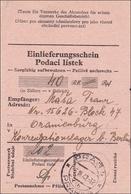 B&M: Einlieferungsschein KZ Oranienburg !!! - Occupation 1938-45