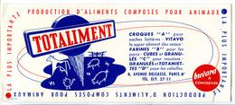 Buvard 21 X 9  TOTALIMENT  Aliments Composés Pour Animaux  Vache Mouton Cochon Volaille - Animaux