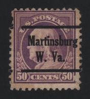 USA 1016 SCOTT 517 MARTINSBURG W.VA - Estados Unidos