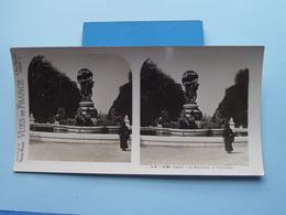 PARIS : La Fontaine De Carpeaux : S. 4 - 3135 ( Maison De La Bonne Presse VUES De FRANCE ) Stereo Photo ! - Photos Stéréoscopiques
