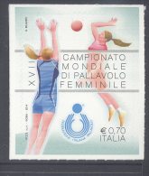 ITALY, 2014, MNH VOLLEYBALL, WOMEN'S  VOLLEYBALL WORLD CHAMPIONSHIP , 1v - Volleyball