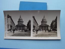 PARIS : Le Panthéon : S. 4 - 3057 ( Maison De La Bonne Presse VUES De FRANCE ) Stereo Photo ! - Photos Stéréoscopiques