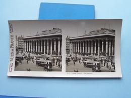 PARIS : La Bourse : S. 1 - 3074 ( Maison De La Bonne Presse VUES De FRANCE ) Stereo Photo ! - Photos Stéréoscopiques