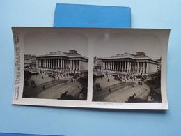 PARIS : Le Palais De La Bourse : S. 9 - 3073 ( Maison De La Bonne Presse VUES De FRANCE ) Stereo Photo ! - Photos Stéréoscopiques