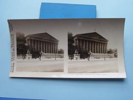 PARIS : Chambre Des Députés, Façade : S. 10 - 3289 ( Maison De La Bonne Presse VUES De FRANCE ) Stereo Photo ! - Photos Stéréoscopiques