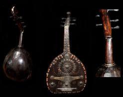 Grande Ancienne Tsigane Hongroise /Old Romanian Gipsy Cithar Instrument / Guitar - Instrumentos De Música