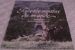 AFFICHE CINEMA ORIGINALE FILM TOUS LES MATINS DU MONDE CORNEAU MARIELLE DEPARDIEU 1991 TBE VIOLE DE GAMBE - Affiches & Posters