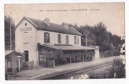 Carte Au Environ De Compiègne Vieux Moulin La Gare - Compiegne