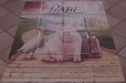 AFFICHE CINEMA ORIGINALE FILM BABE LE COCHON DANS LA VILLE George MILLER SZUBANSKI James CROMWELL 1998 - Affiches & Posters