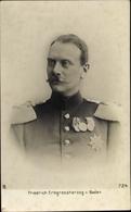 Cp Grand-duc Friedrich II. Von Baden, Portrait - Royal Families