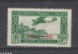 OCEANIE  1941   Aérien  N° 3  Neuf X  France Libre - Airmail