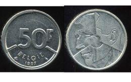 BELGIQUE 50 Francs 1987 ( Belgie ) - 1951-1993: Baudouin I