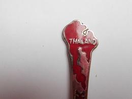 Cuillére à Café De Collection , Thailand , Bangkok , Thaïlande - Obj. 'Souvenir De'