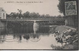 PONTIVY  PONT NEUF SUR LE CANAL DE NANTES A BREST - Pontivy