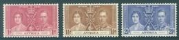 ANTIGUA - MNH/**. - 1937 - CORONATION - Yv 78-80 -  Lot 18391 - Antigua & Barbuda (...-1981)