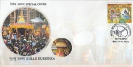 India 2018  Hinduism  Kullu Dussehra  Festival  Special Cover  #  15805  D  Inde Indien - Hinduism
