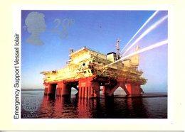 GRANDE-BRETAGNE. N°1093 De 1983 Sur Carte Premier Jour. Pétrole. - Oil