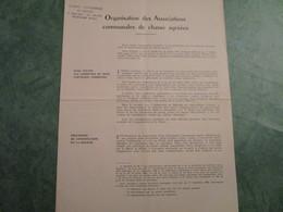 Organisation Des Associations Communales De Chasse Agrées - Décrets & Lois