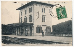 CPA - CARRY (le Rouet) (Bouches Du Rhône) - Intérieur De La Gare - Carry-le-Rouet