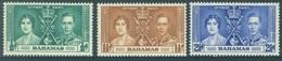 BAHAMAS - MNH/**. - 1937 - CORONATION - Yv 98-100 -  Lot 18393 - Bahamas (...-1973)