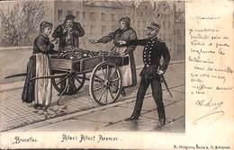 Bruxelles - Allez, Allez Avancez (E Grégoire 1902) - Petits Métiers