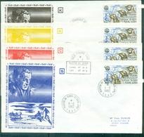 TAAF  PA 71 Oblitéré Des 4 Districts Du 11.6.1982 (les Tp Cote:21.60 €) TB - Cartas