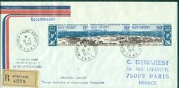 TAAF  PA 36A Oblitéré Sur Rec Crozet Du 19.2.1974 Arr Paris Le 2.5.74(tp Cote:31  €)  TB - Terres Australes Et Antarctiques Françaises (TAAF)