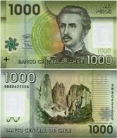 CHILE       1000 Pesos       P-161[g]       2018       UNC - Cile