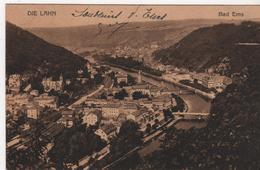 CPA ALLEMAGNE Bad Ems Die Lahn - Année 1919 - Bad Ems