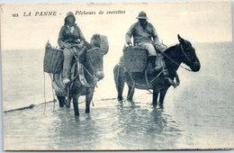 Belgique - FLANDRE OCCIDENTALE - LA PANNE - Pêcheurs De Crevettes - De Panne