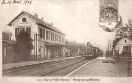 Reproduction - 91 - Gare D'Evry-Petit-Bourg - Soisy-sous-Etiolles - Francia