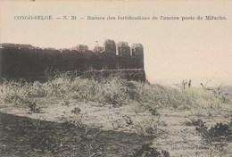 Congo--Belge.  Ruines Des Fortifications De L'ancien Post De Mifucho.---scan-- - Congo Belge - Autres