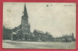 Spy - Place De L'Eglise - 1912  ( Voir Verso ) - Jemeppe-sur-Sambre