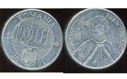 ROUMANIE 1000 Lei 2001 - Roumanie