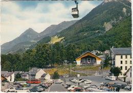 Cauterets: CITROËN AMI 6, 2CV, DS, PEUGEOT 203, 404, RENAULT 4, 4CV, SIMCA 1000 - Gare De Téléferique Cambasque-Lys - Toerisme