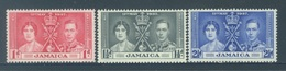 JAMAICA - MNH/**. - 1937 - CORONATION - Yv 120-122-  Lot 18399 - Jamaïque (...-1961)