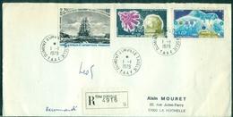TAAF  N° PA 51 / 53 Bateaux Sur Rec 1.1.1979 Terre Adélie (arr. La Rochelle Le 17.1 )  TB - Terres Australes Et Antarctiques Françaises (TAAF)