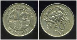 ISLANDE  50 Kronur  1987 - Islandia