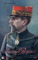 Thématiques 2018 Commémoration Fin De Guerre 1914 1918  Général Roques Cliché Henri Manuel - War 1914-18