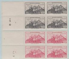 France - Fezzan Ghadamès - Territoire Militaire - Libye - 1946 - N° Y&T 28 Et 29 - Bloc De 4 Neufs - Unused Stamps