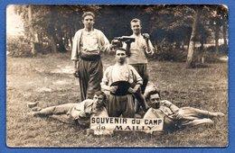 Camp De MaillyCarte Photo  ---  Groupe De Soldats Français  -  24 Reg Inf - Mailly-le-Camp