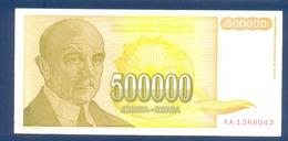 500000 Dinara Yugoslavia 1994 - Yougoslavie