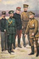 Thématiques 2018 Commémoration Fin De Guerre 1914 1918 Nicolas II Albert 1 Er Victor Emmanuel French Joffre - Guerre 1914-18