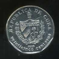 CUBA  25 Centavos 2003 - Cuba
