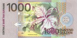 SURINAM SURINAME 1000 GULDEN 2000 P 151 BIRD UNC - Surinam