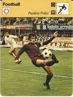 Fiche Editions Rencontre Paolini Pulici - Football