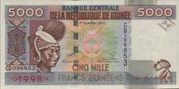 GUINEE 1000 FRANCS GUINEENS De 1998  PICK 38 UNC/NEU5 - Guinée