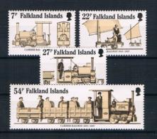 Falklandinseln 1985 Eisenbahn Mi.Nr. 419/22 Kpl. Satz ** - Falklandinseln